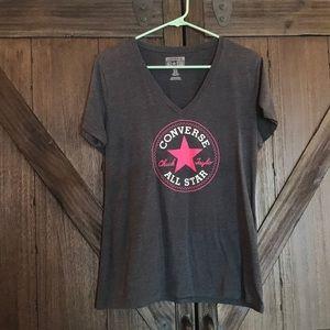 Women's Converse V-Neck T-Shirt